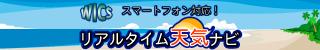 WICSリアルタイム天気ナビ 216円コース