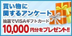 VISAギフトカード1万円分プレゼントキャンペーン